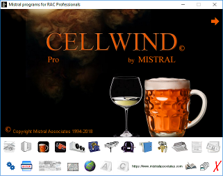 mistral cellwind launcher